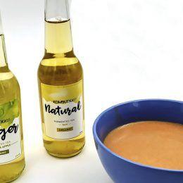 Gazpacho con kombucha